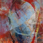 """MAPPING A PLACE 26 (2015) by Lisa Pressman / 10""""x7"""" / Oil on Arches Oil Paper"""