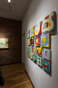 """Artist reception and opening, Lisa Pressman Artist at Susan Eley Fine Arts, New York, NY"""