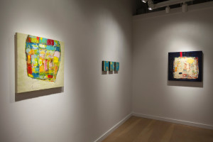 """Opening reception of Lisa Pressman, Artist. R&F Paints Gallery"""
