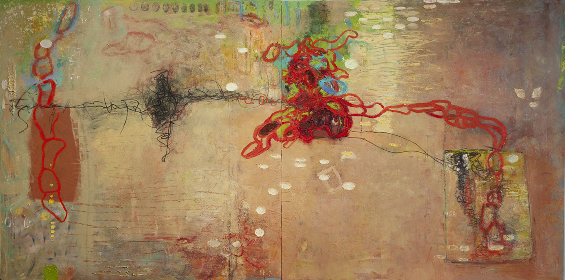 Contrasting Abstractions,  October 8, 2015 from 6-8pm at Gallery at 14 Maple Street, Morristown, NJ